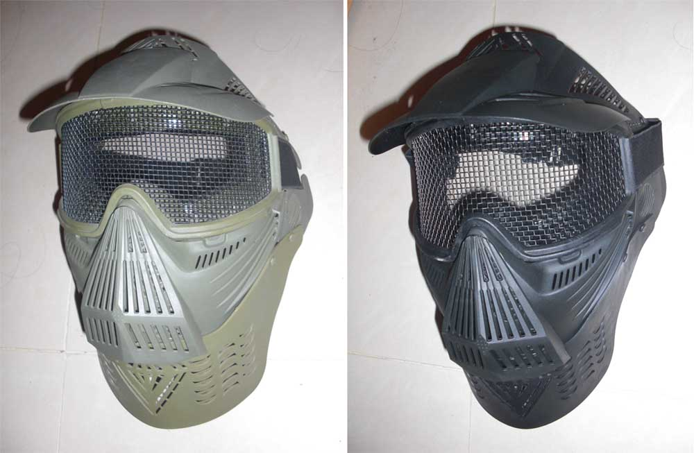 Soctt style Airsoft Mask - Net Style