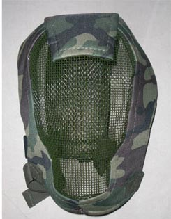 Wire Full Mask - US Woodland