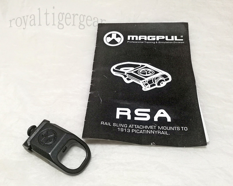 RSA Rail Sling Attachment Mount
