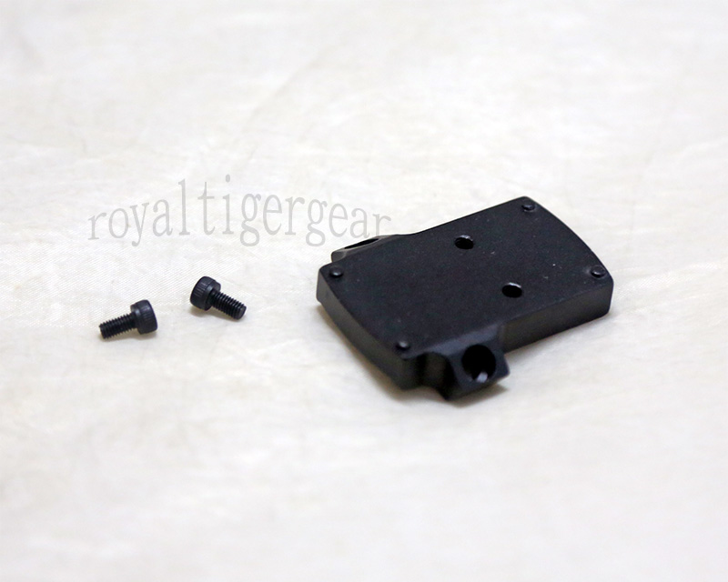 ELCAN SpecterDR style MRDS MRD Red Dot Sight Mounting Plate – Black