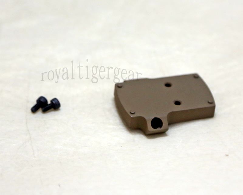ELCAN SpecterDR style MRDS MRD Red Dot Sight Mounting Plate – Dark Earth