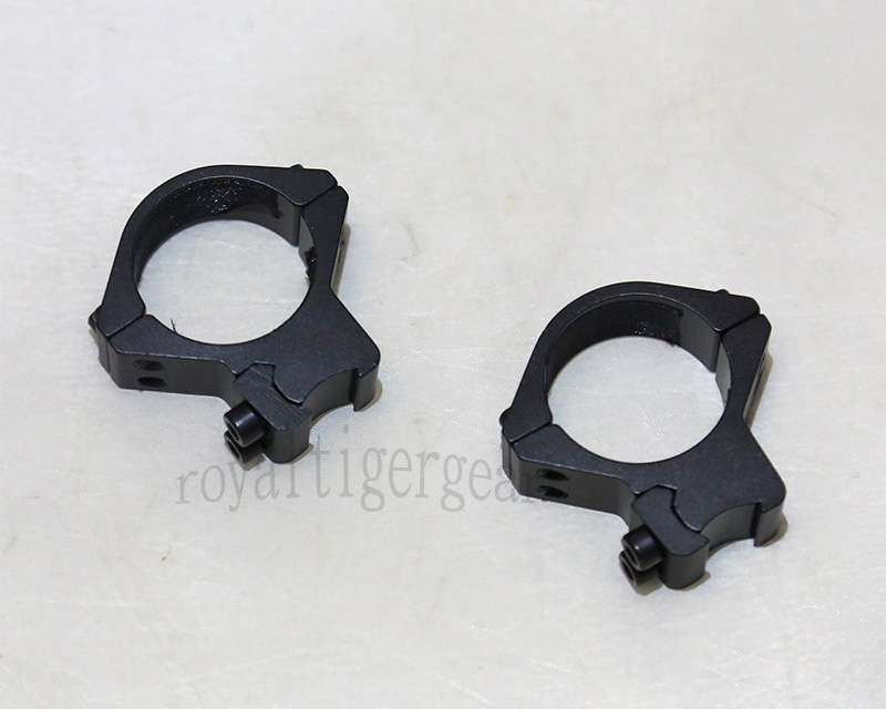 Rifle Scope Mount Rings for Picatinny Rail - Diameter 30mm Height 47mm