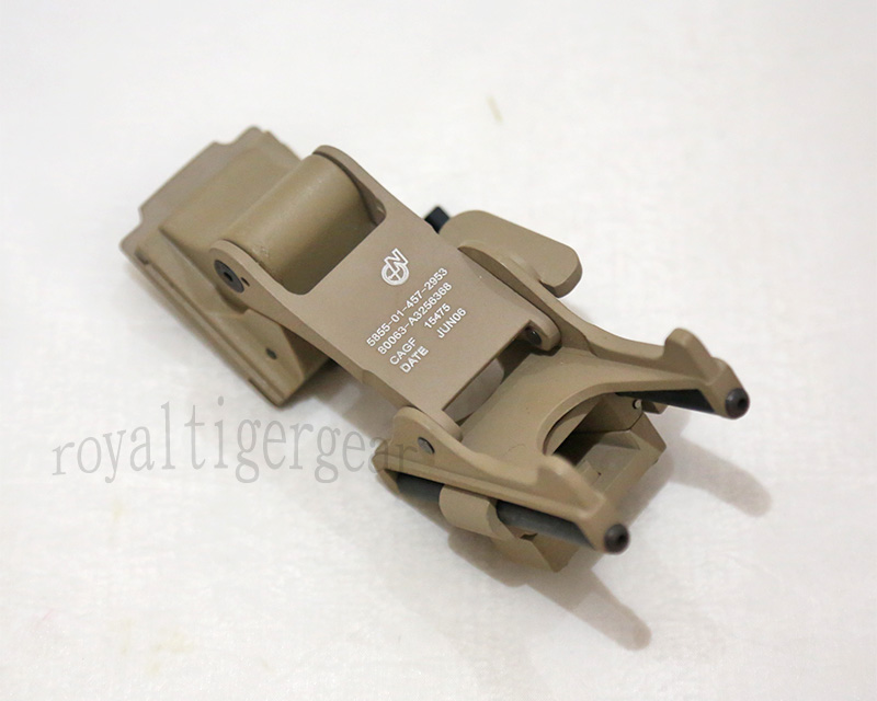 EMERSON Helmet Night Vision Rhino Arm Mount for PVS-14 PVS-7 NVG - Dark Earth