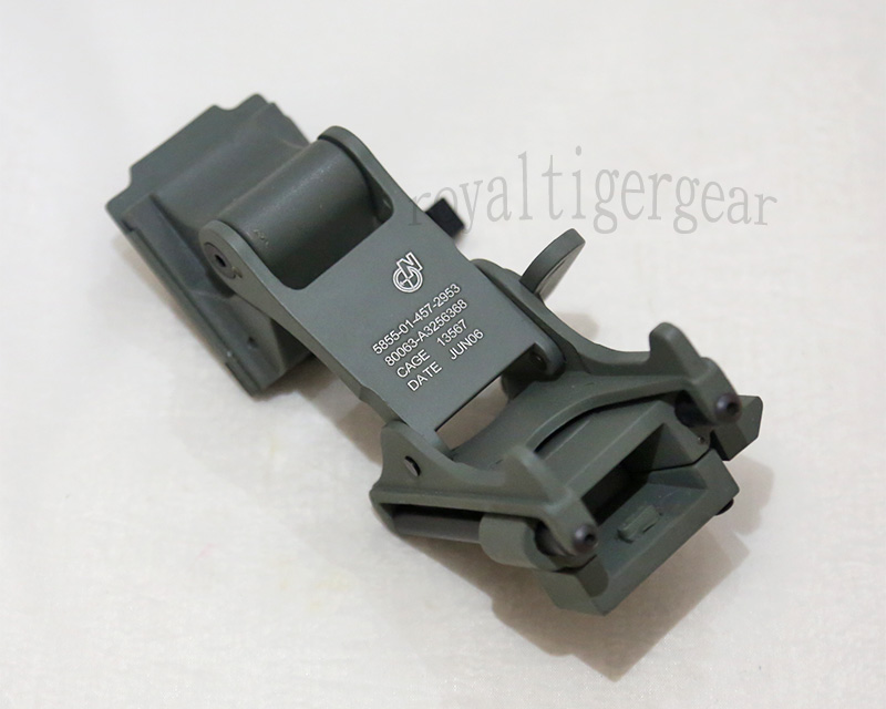 EMERSON Helmet Night Vision Rhino Arm Mount for PVS-14 PVS-7 NVG - Foliage Green