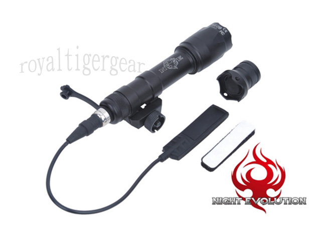 Night Evolution M600C Mini Scout Light Rail - Black