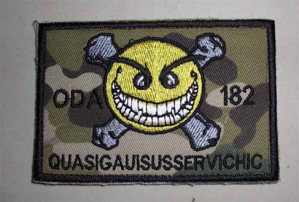 US Special Force ODA 182 Patch – QUASIGAUISUSSERVICHIC