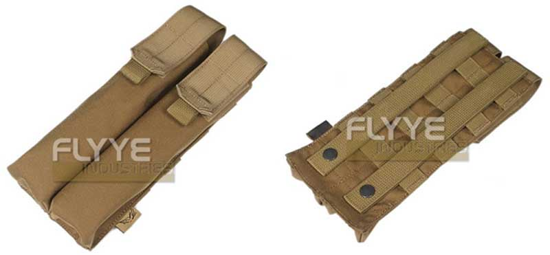 FLYYE Double P90/UMP Mag MOLLE Pouch