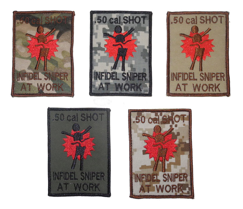 50 cal Shot – Sniper at Work Patch