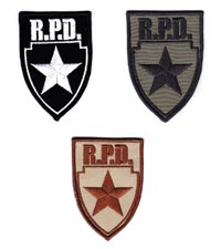 Biohazard R.P.D. Police Patch