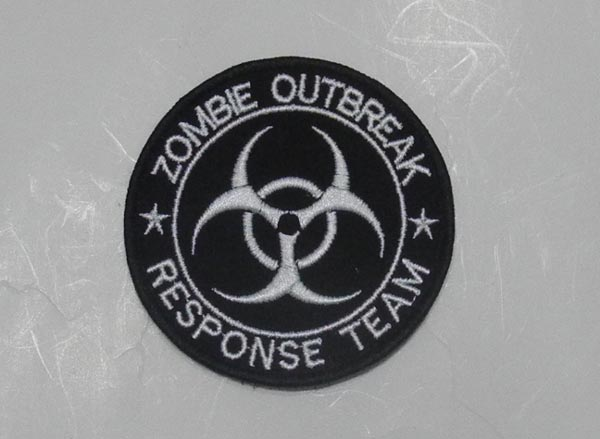 Biohazard – Zombie Outbreak Response Team Patch - Round
