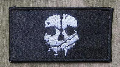 Call of Duty 10 Ghosts Patch - Rectangle - Ver. C