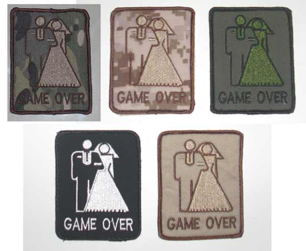 Game Over Patch – Wedding