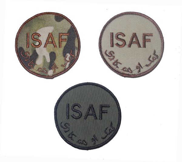 ISAF - International Security Assistance Force Patch – Round