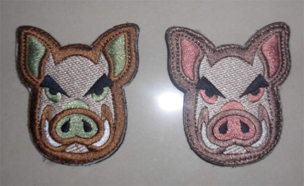 Angry Pig Patch