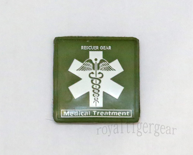 Rescuer Gear – Medical Treatment - PVC Patch - OD