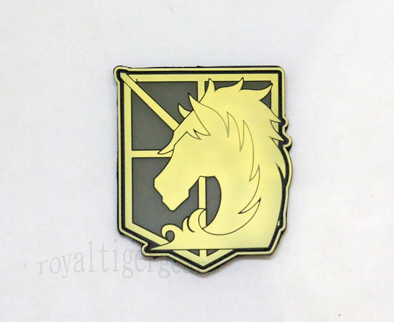 Attack on Titan - Military Police PVC Patch - Grow in Dark