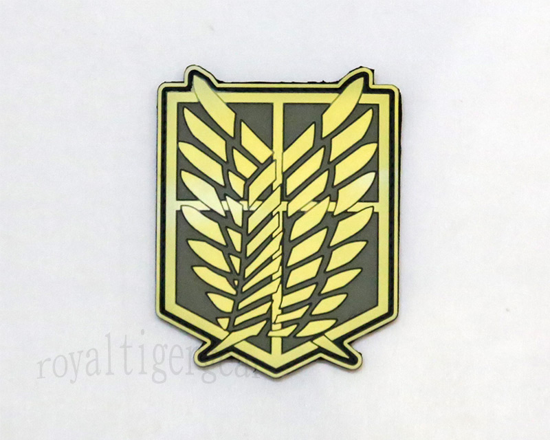 Attack on Titan - Investigation Corps PVC Patch - Grow in Dark