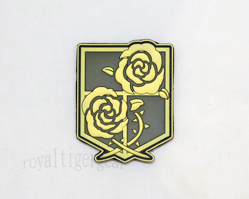 Attack on Titan - Stationed Corps PVC Patch - Grow in Dark