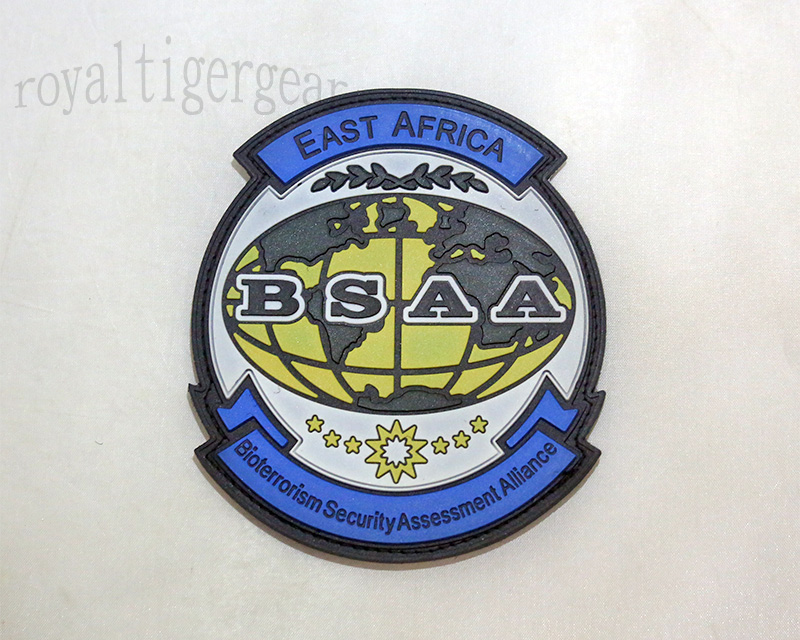 Resident Evil BSAA Bioterrorism Security Assessment Alliance PVC Patch – East Africa