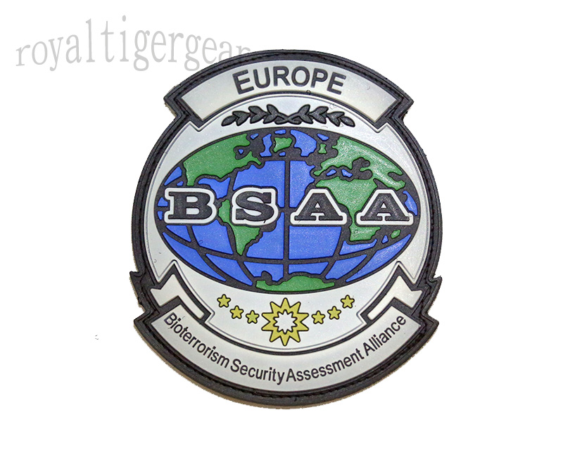 Resident Evil BSAA Bioterrorism Security Assessment Alliance PVC Patch – Europe
