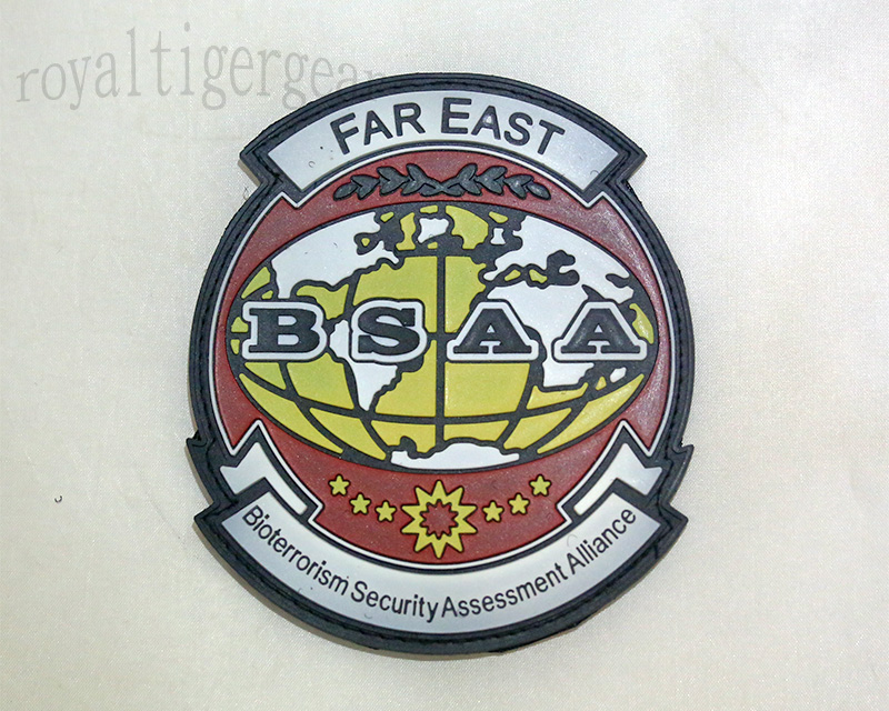 Resident Evil BSAA Bioterrorism Security Assessment Alliance PVC Patch – Far East