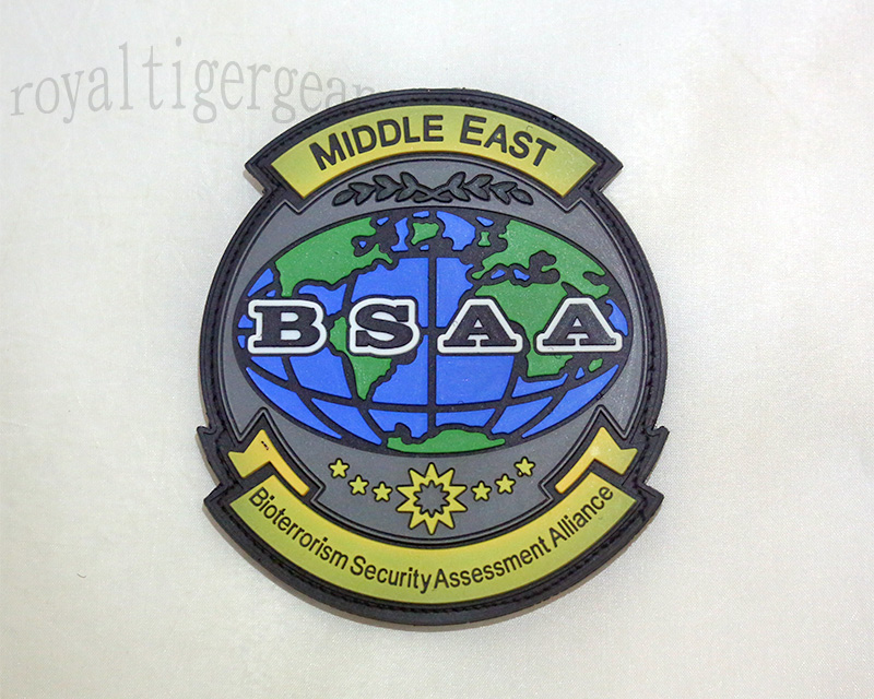 Resident Evil BSAA Bioterrorism Security Assessment Alliance PVC Patch – Middle East