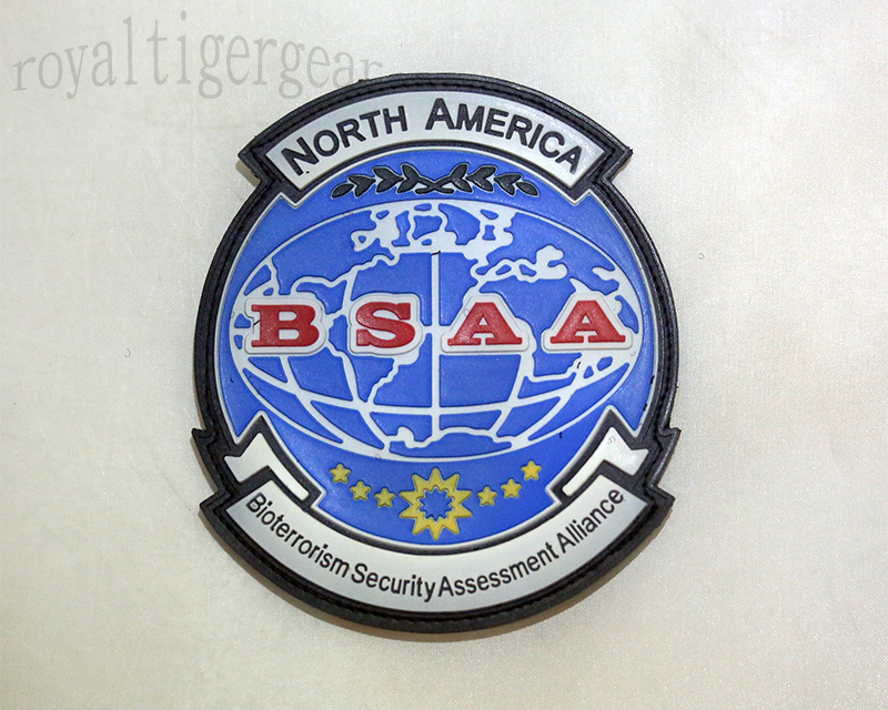 Resident Evil BSAA Bioterrorism Security Assessment Alliance PVC Patch – North America