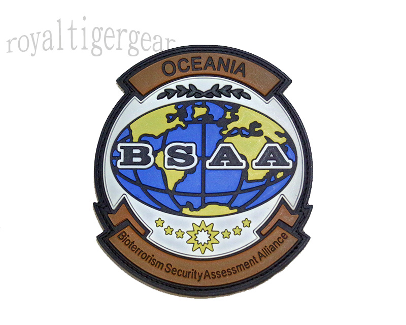 Resident Evil BSAA Bioterrorism Security Assessment Alliance PVC Patch – Oceania