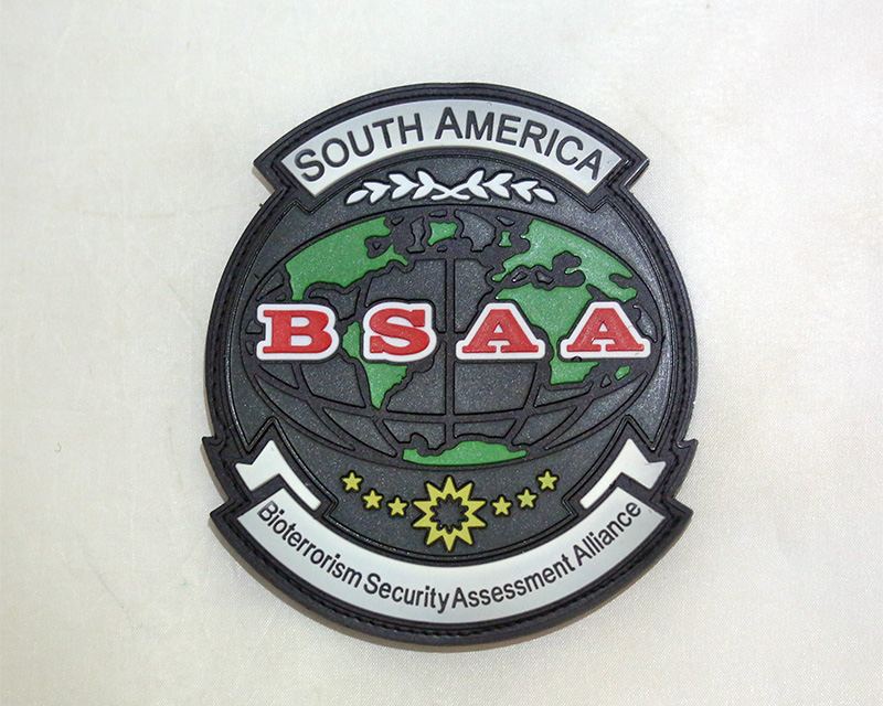 Resident Evil BSAA Bioterrorism Security Assessment Alliance PVC Patch – South America
