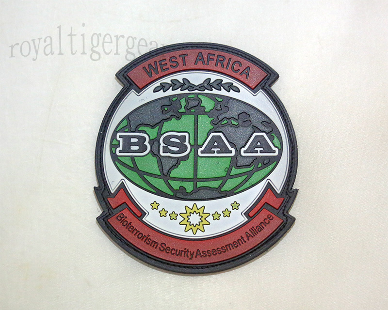 Resident Evil BSAA Bioterrorism Security Assessment Alliance PVC Patch – West Africa