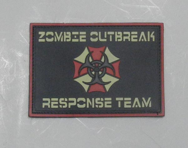 Biohazard - Zombie Outbreak Response Team PVC Patch