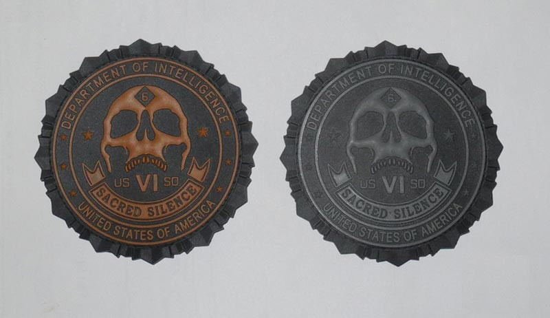 Call of Duty 10 PVC Patch - US Department of Intelligence