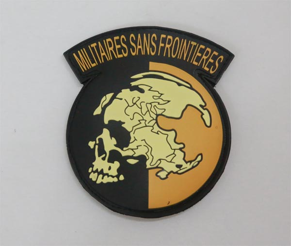 Metal Gear Solid MGS Militaires Sans Frontieres PVC Patch