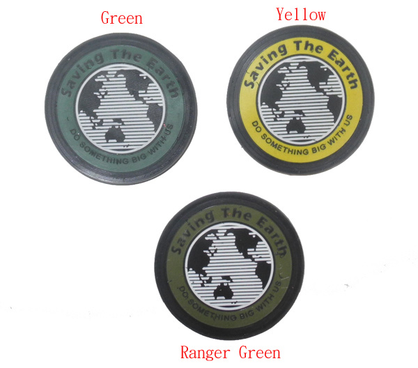 Saving The Earth PVC Patch