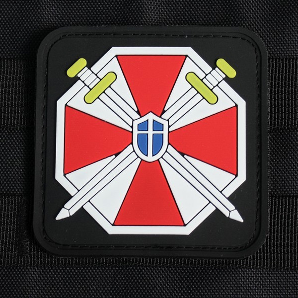 Biohazard Umbrella Corporation PVC Patch - Square