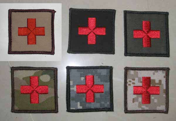 Red Cross ParaMedic Patch