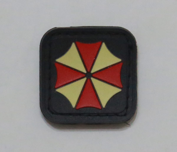 Biohazard Umbrella Corporation PVC Patch - Small