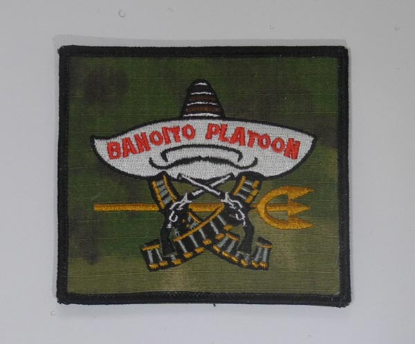 Act of Valor - US Navy Seal Banoito Platoon Patch