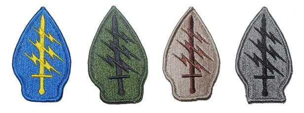 US Special Forces Patch - Ver. Full Embroidery