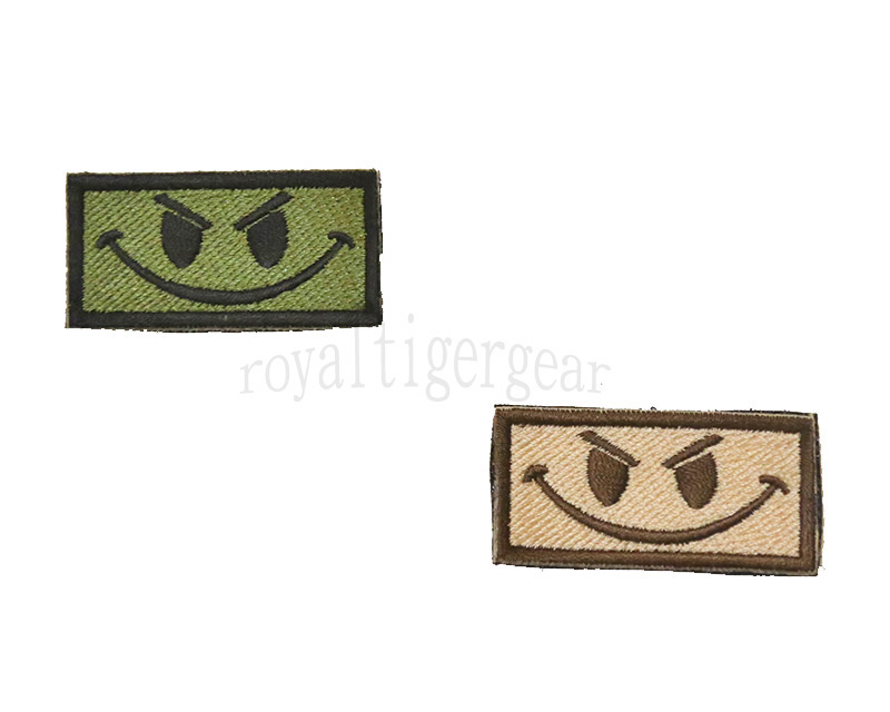 Spirit Velcro Patch - Happy Face