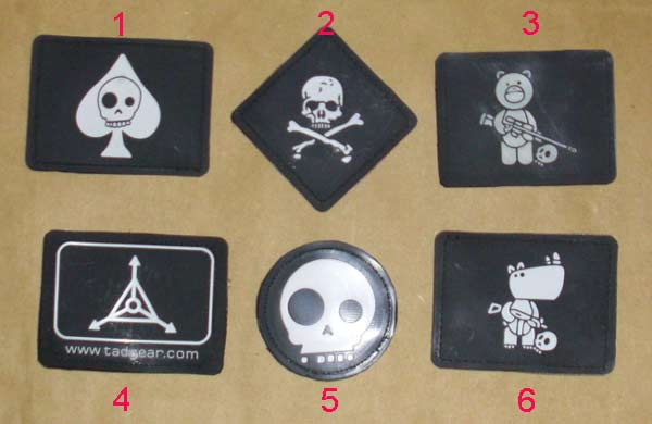 TAD PVC Patch  - Large