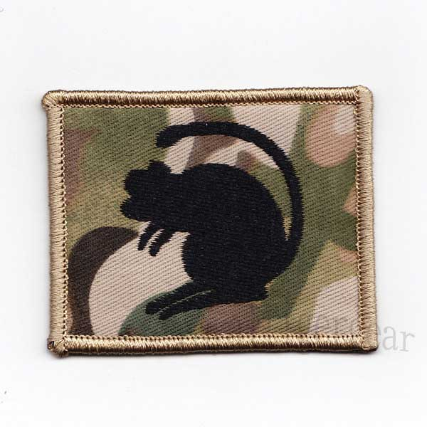 British Army 4th Mechanized Brigade – the Black Rats Patch