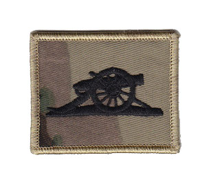 British Army Gunners Badge Patch