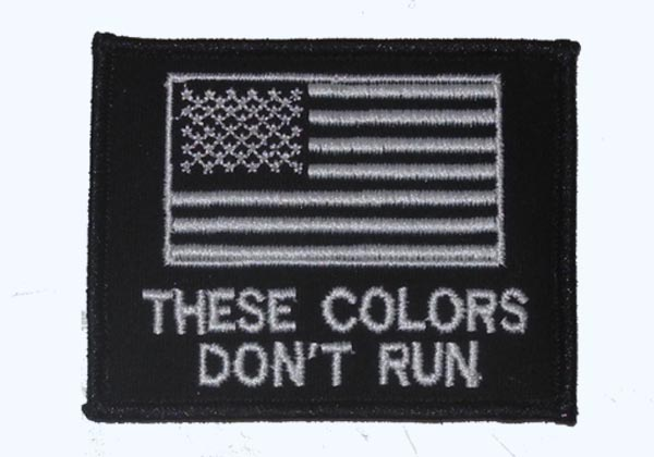US Flag Patch - These Colors Don't Run