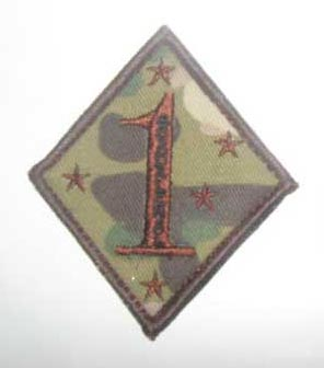 US Marines USMC 1st Marine Division Patch