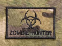 Biohazard Zombie Hunter Patch