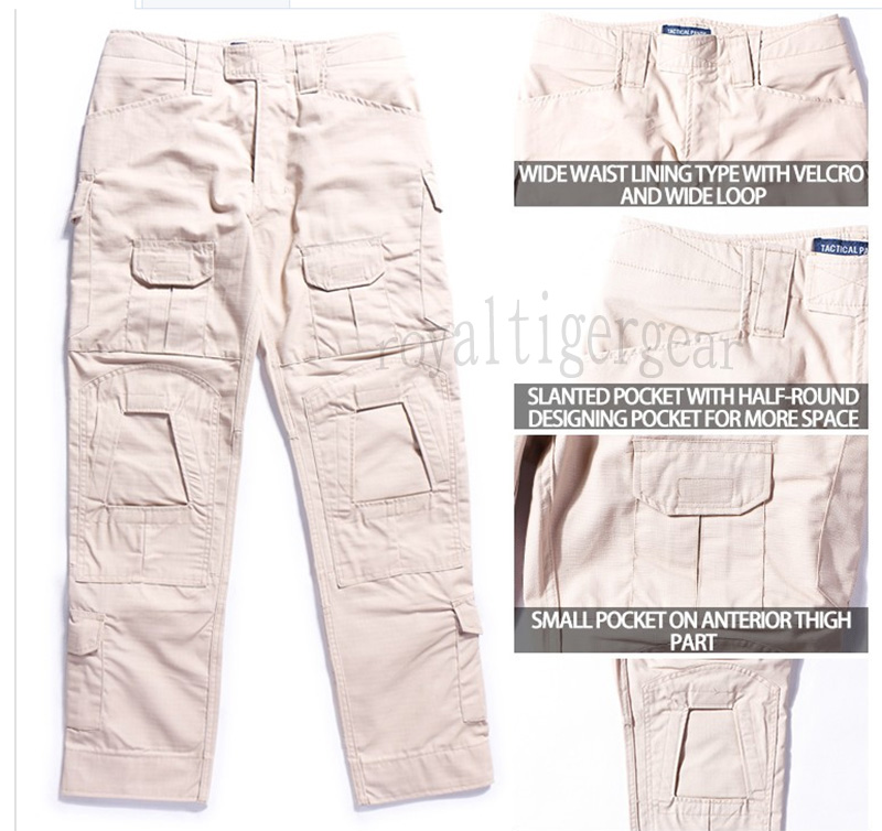 Tactical Combat Pants Gen2 ( without Knee Pads ) - Tan