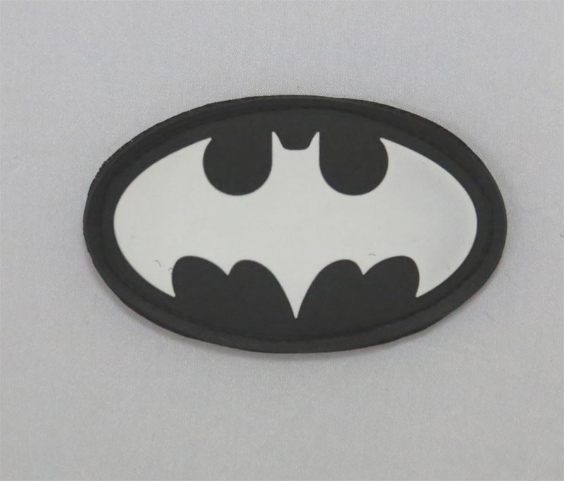 Batman PVC Patch - Oval