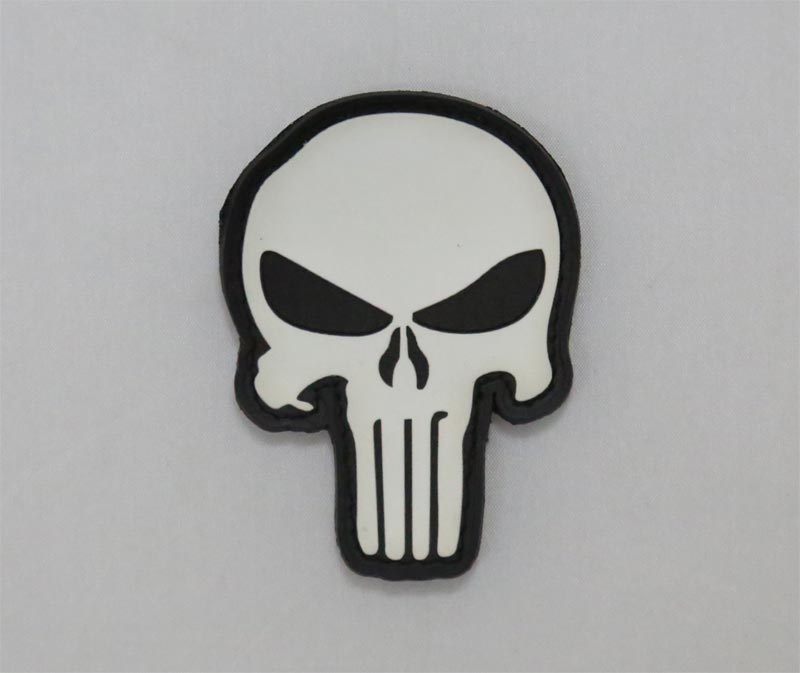 US Navy Seal Team DEVGRU Skull PVC Patch