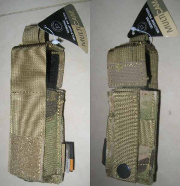 FLYYE Single .45 Pistol Mag. MOLLE Pouch - MultiCam®
